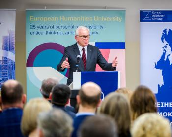 EHU celebrates 25th anniversary in the new University premises