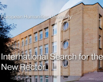 Application deadline for the EHU Rector's Search is over