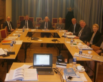 Governing Board discusses state of affairs and further scenarios of EHU development