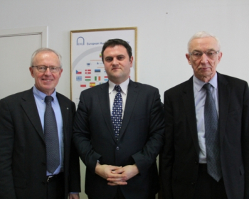"Ambassador of Romania: ""Generations of graduates are a testimony EHU's success"""