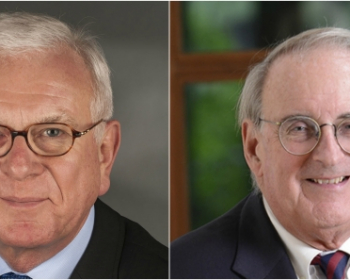 EHU Doctor Honoris Causa degrees will be awarded to Hans-Gert Pöttering and Jonathan Fanton