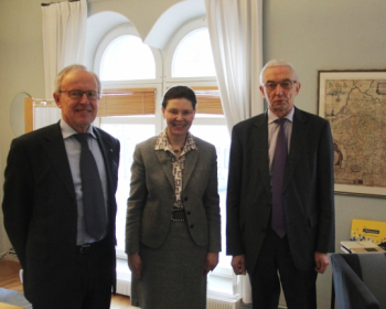 EHU progress presented to the Swedish Ambassador
