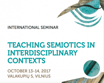"International Seminar ""Teaching Semiotics in Interdisciplinary Contexts"""