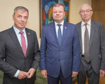 "Prime Minister of Lithuania Saulius Skvernelis: ""Lithuanian Government is interested in the successful operations of EHU"""