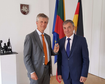 State of EHU affairs presented to German stakeholders