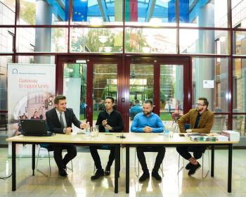 EHU Alumni presented their own achievements in Minsk
